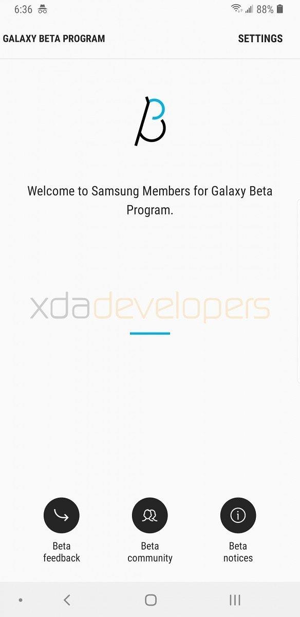 Galaxy S9'un Pie Betası Şimdiden Sızdı