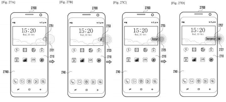 Samsung'un Basınca Duyarlı Ekran Fikirleri