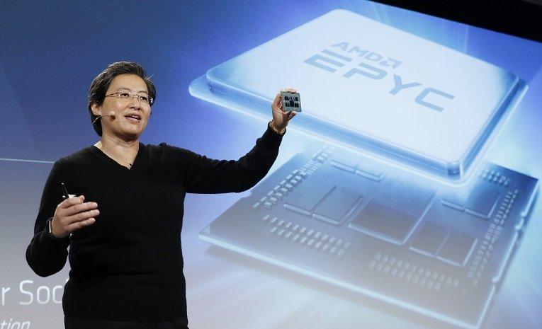 AMD EPYC Sunucu CPU güncellemeleri