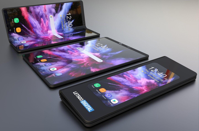 Katlanabilen Samsung'tan Göz Alıcı Konsept