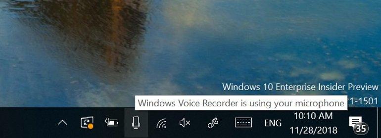 Windows, Sizi Dinleyen Uygulamaları Söyleyecek