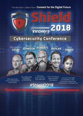 Shield2018 siber güvenlik uzmanlarını ağırlıyor