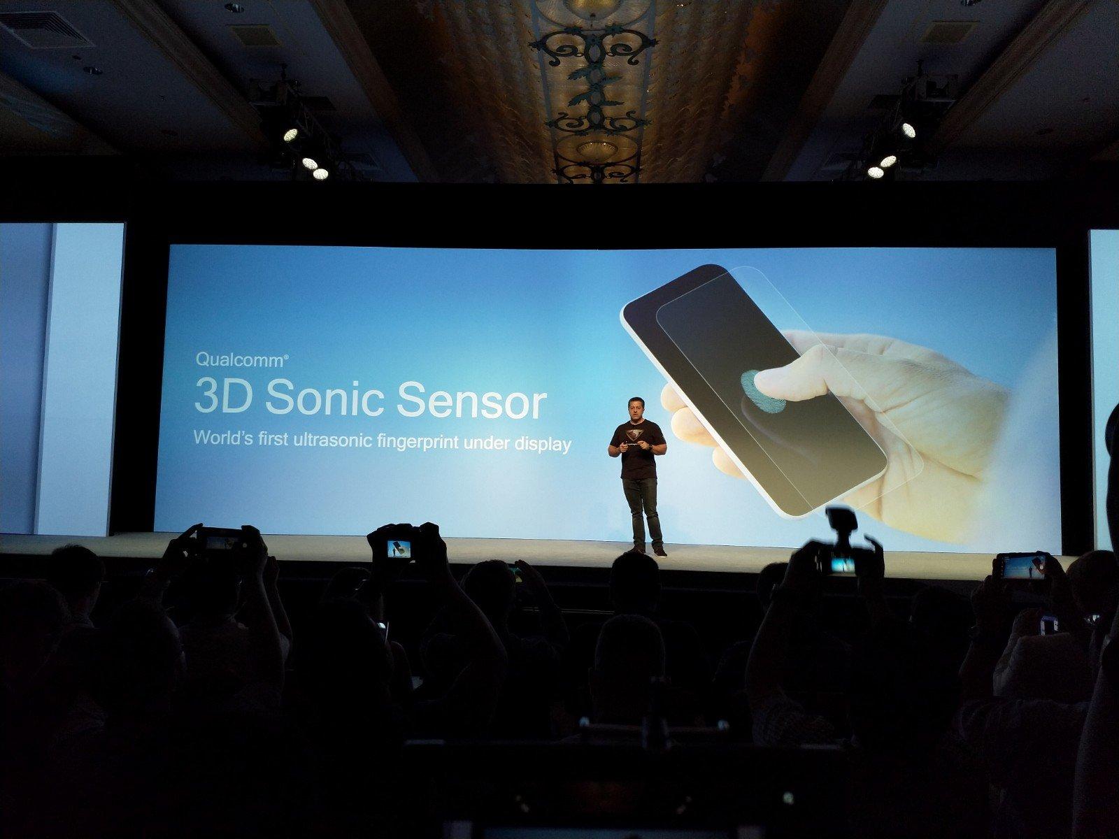 Ekran altı ultrasonic 3D sensör gerçek oluyor!