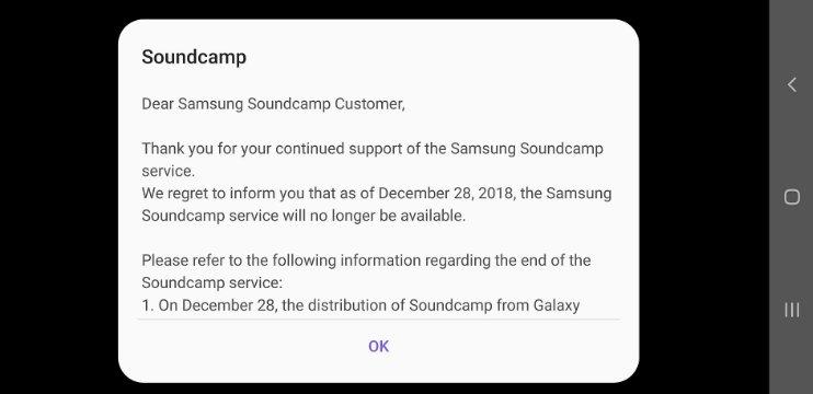 Samsung, Bu Uygulamanın Fişini Çekti!