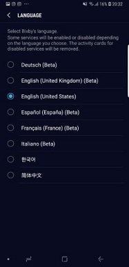Bixby Artık Daha Fazla Dil Desteği Kazanıyor