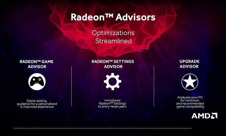 AMD Radeon Adrenalin 2019 Edition özellikleri