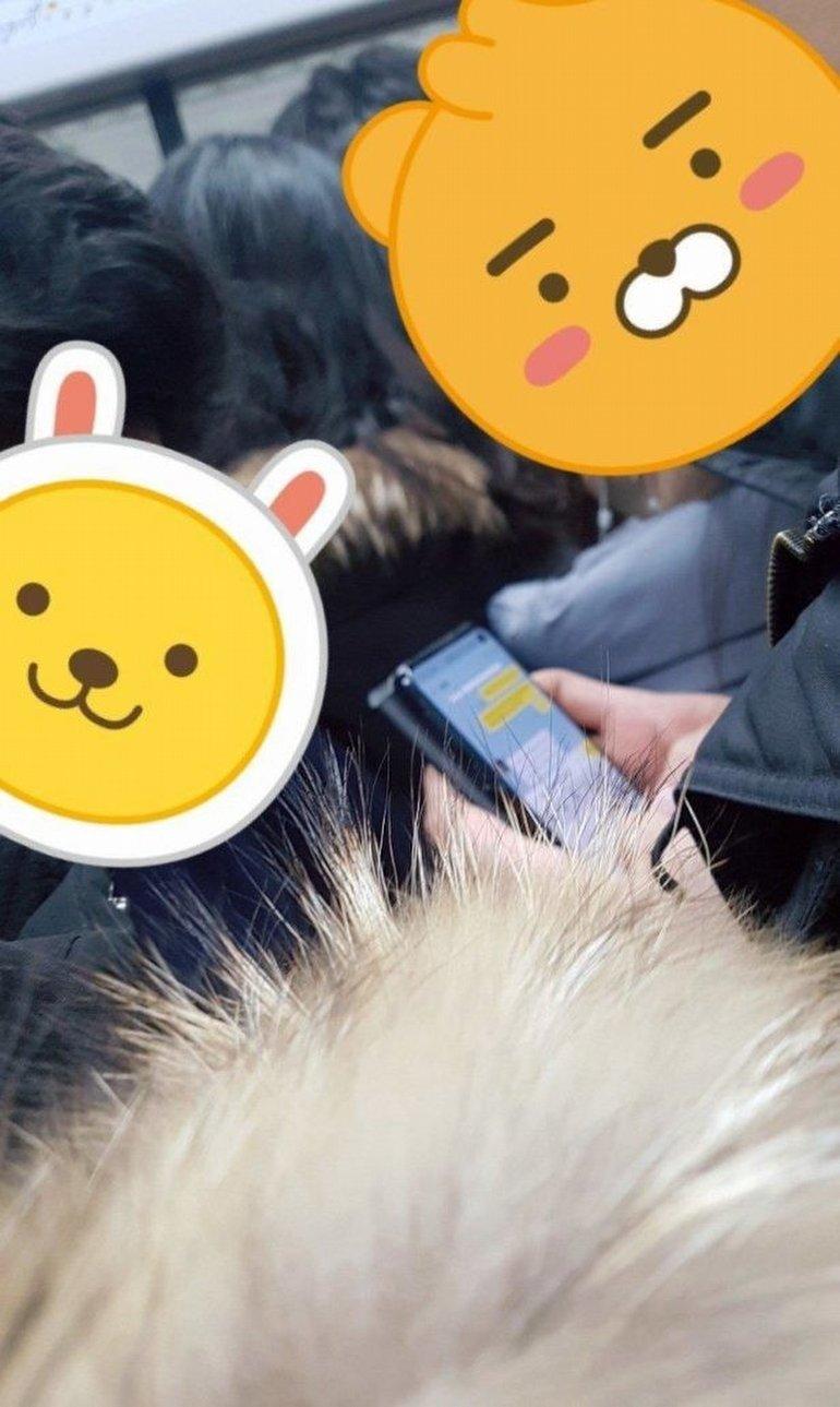 Galaxy S10, Güney Kore'de Metroda Göründü
