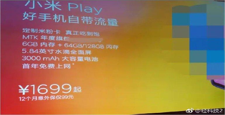 Xiaomi Mi Play Bir Kez Daha Sızdı