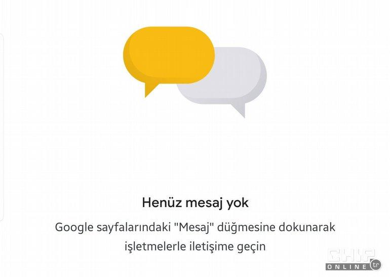 Google Haritalar'a Mesajlaşma da Geldi!