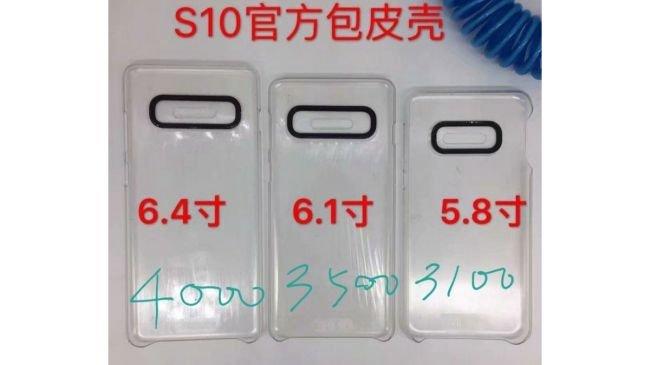 Samsung Galaxy S10 Batarya Kapasitesi Ortaya Çıktı
