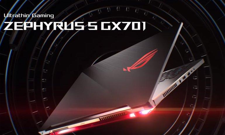 Yüksek performansa ince ayar: ROG Zephyrus S GX531 ve GX701