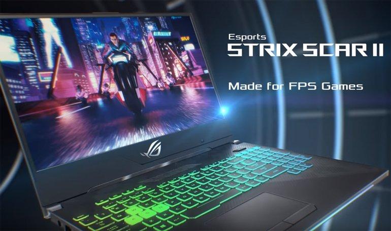 FPS tutkunları için: ROG Strix SCAR II