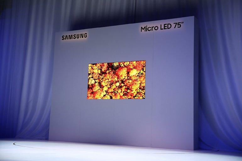 Samsung, Micro LED Teknolojili TV'sini Tanıttı!