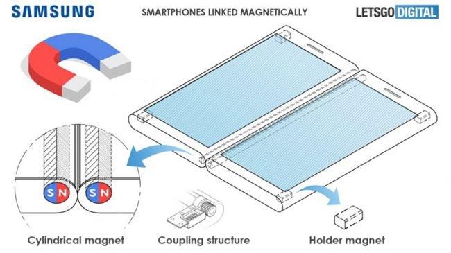 """Samsung """"Mıknatıslı Dev Ekran Patenti"""" Aldı"""
