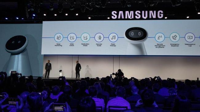 Samsung, CES'e Robot Çıkarması Yaptı