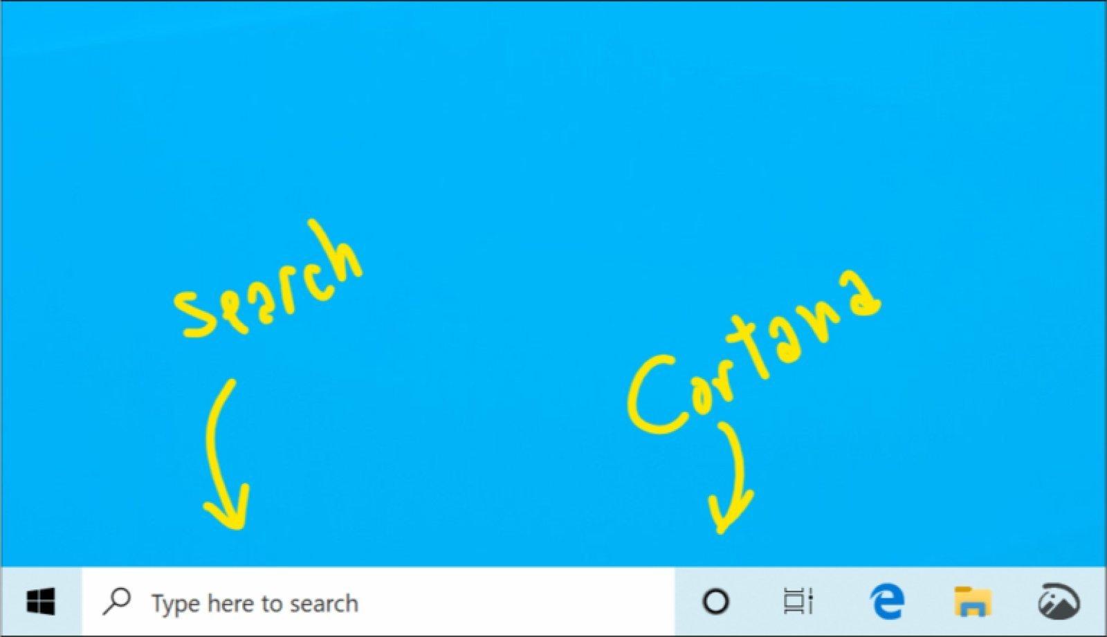 Microsoft, Cortana ile Arama İşlevlerini Ayıracak