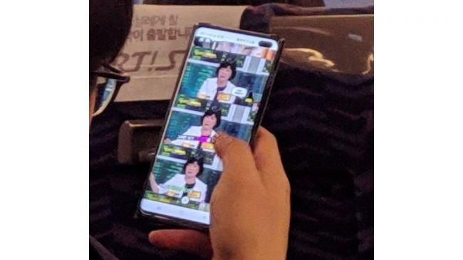 Galaxy S10 Plus, Gerçek Hayatta Göründü