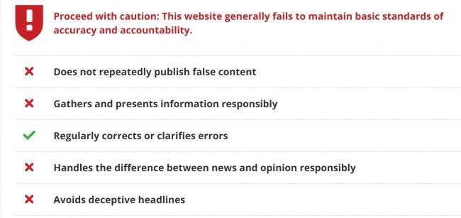Edge Güvenilmeyen Haber Kaynaklarını Bildirecek