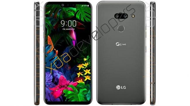LG G8 İçin Bilgisayar Modellemesi Ortaya Çıktı