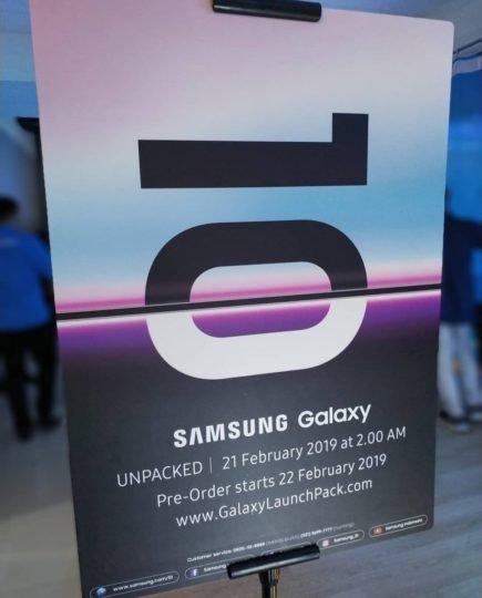 Galaxy S10 İçin Ön Sipariş Tarihi Oldukça Yakın