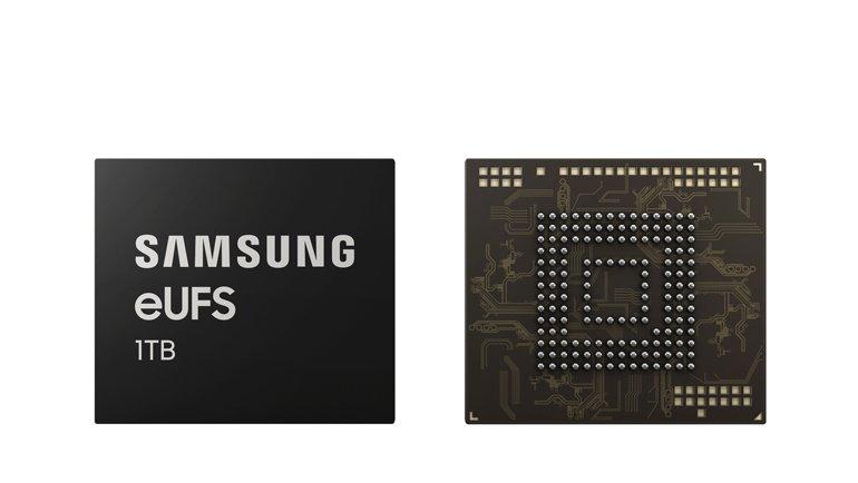 Samsung Akıllı Telefonlarda Terabyte Sınırını Aştı