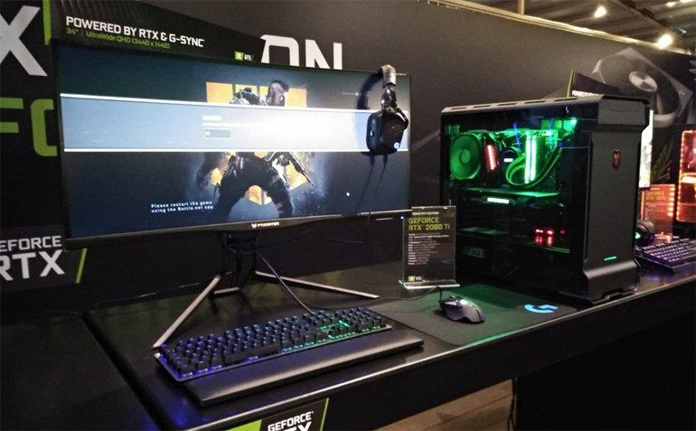 NVIDIA, GeForce RTX'leri Türkiye'de Tanıttı