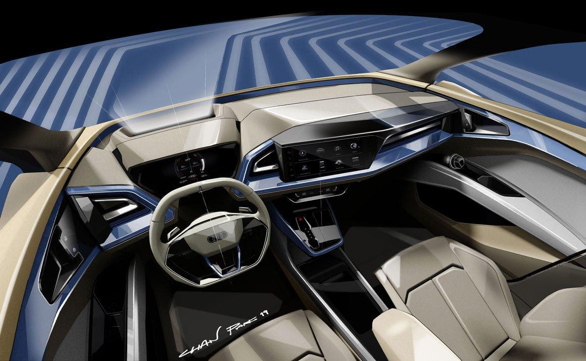 Audi üçüncü elektrikliyi tanıtacak