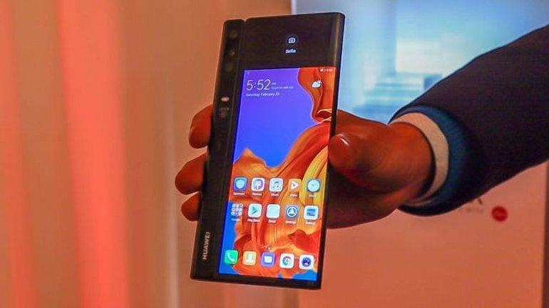 Katlanabilen Huawei Mate X Tanıtıldı