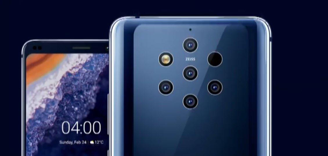 Beş Kameralı Nokia 9 PureView ve Fazlası Tanıtıldı