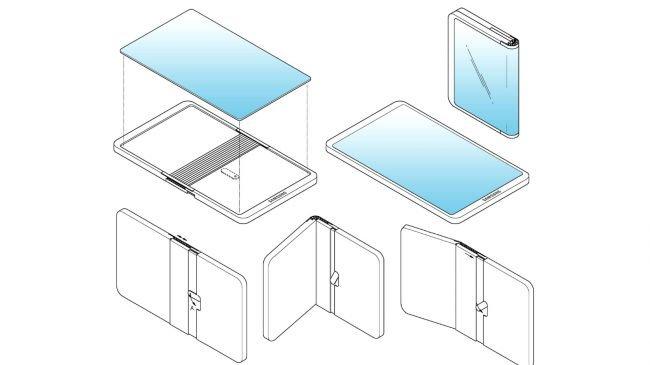 Geleceğin Katlanabilen Samsung'u Böyle Olabilir