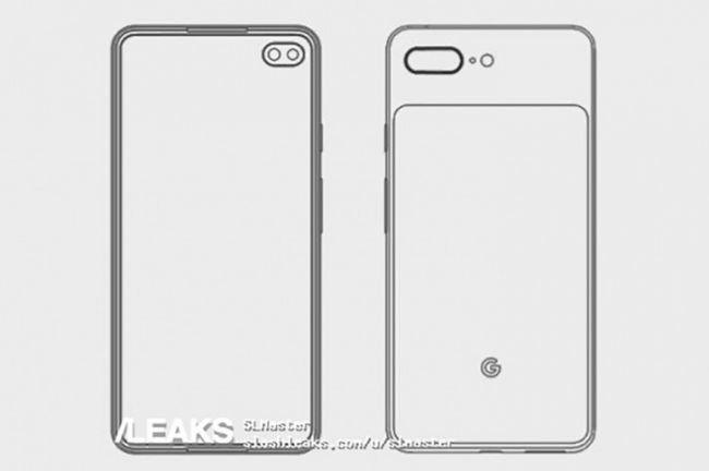Pixel 4 Delik Ekran Teknolojisini Taşıyabilir