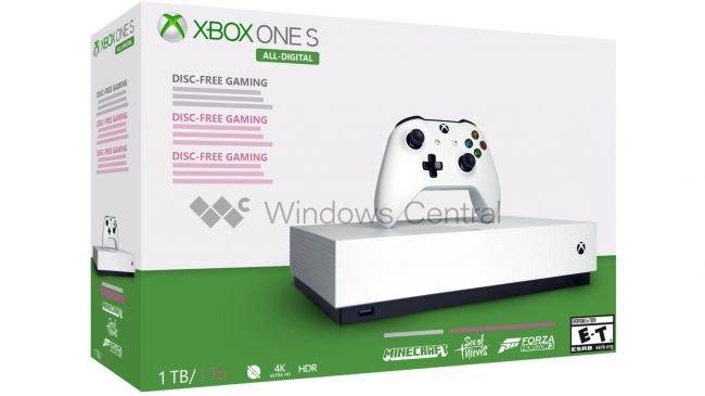 Dijital Xbox One S için artık bir tarih var!