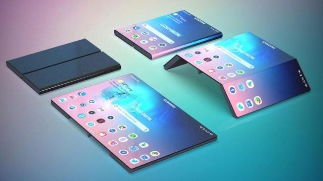 Samsung'tan Bir Katlanan Telefon Hayali Daha