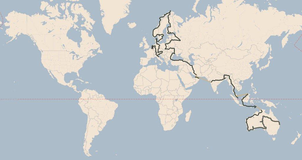Dünya'nın En uzun EV yolculuğu tamamlandı