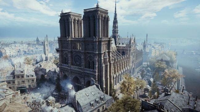 Ubisoft, oyunculara Notre-Dame'ı getiriyor