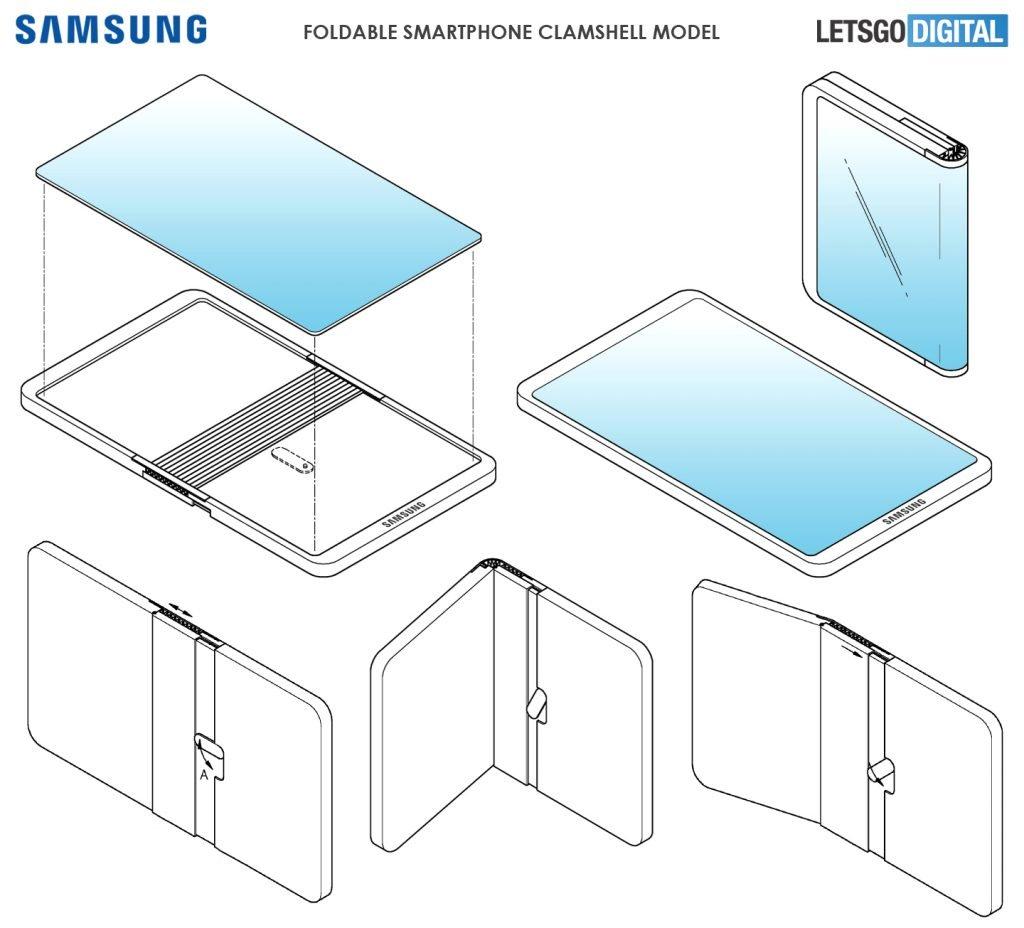 Samsung, İki Kez Katlanan Cep İçin Çalışıyor