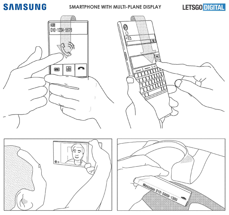 """Samsung'un """"Saran Telefon Ekranı"""" Hayali"""