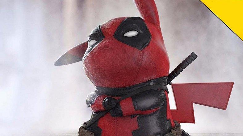 Pikachu, Deadpool'u Döver mi?