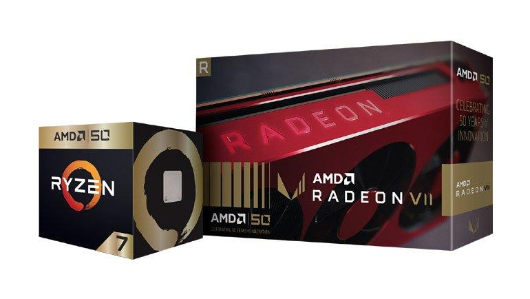 AMD, 50. Yılını Muhteşem Hediyelerle Kutluyor!