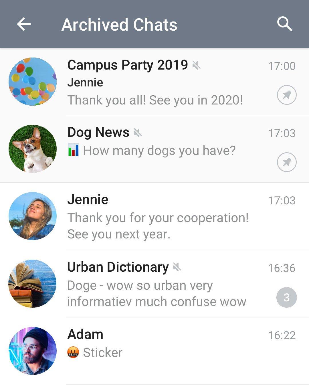 Telegram'ın Görünümü Yenilendi