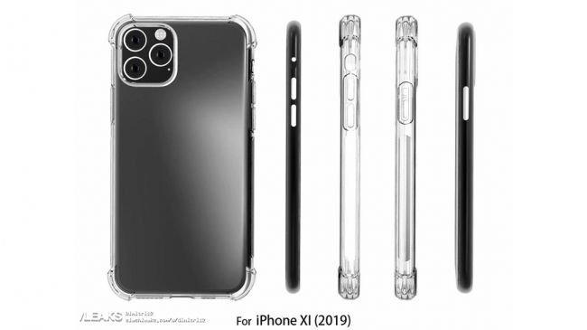iPhone 11'in Üçlü Kamera Tasarımı Yine Göründü