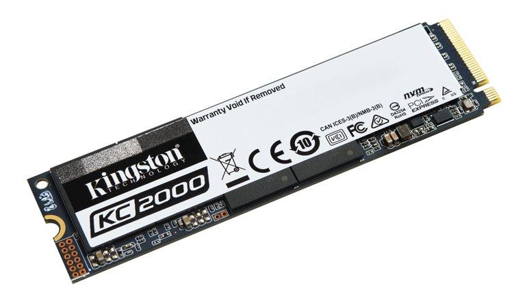 Kingston'dan Yeni Nesil NVMe PCIe SSD: KC2000