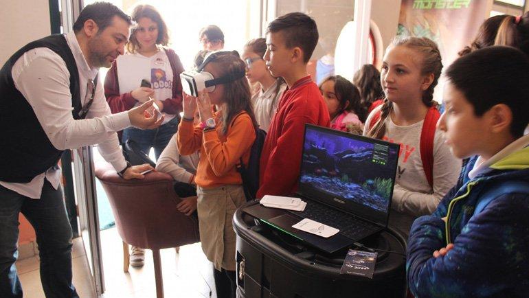 Çocuklar Kodlama ve Robotikle Tanıştı