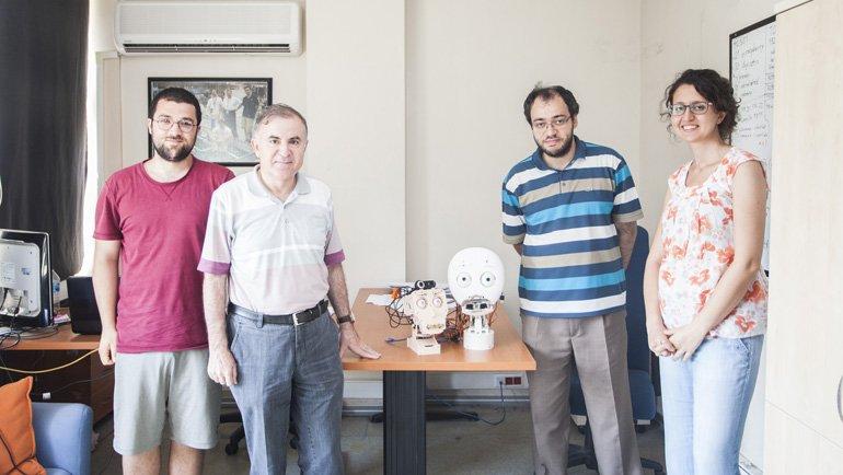 Boğaziçi Üniversitesi'nden 'Can Yoldaşı' Robot