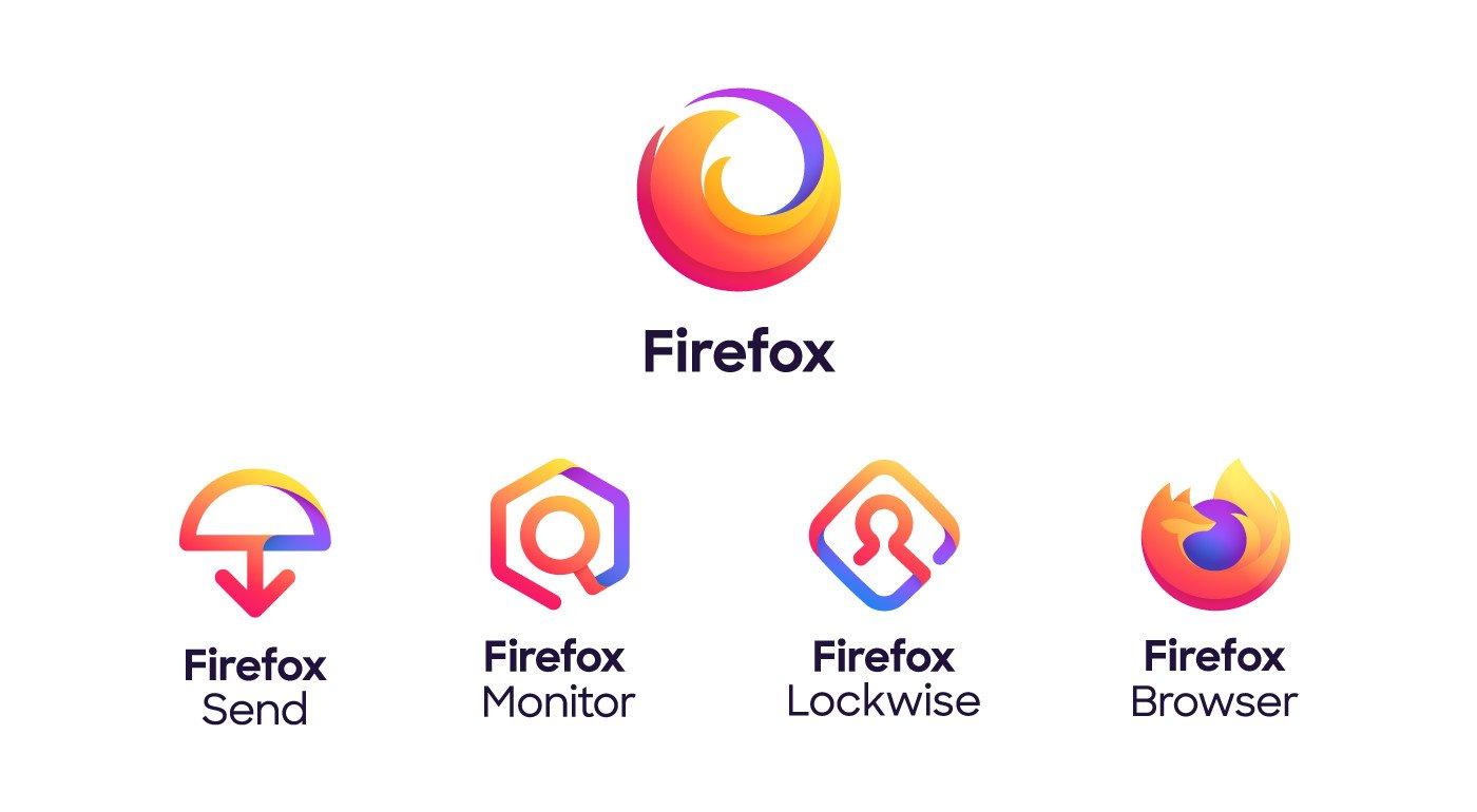 Mozilla Yeni Firefox Logolarını Duyurdu