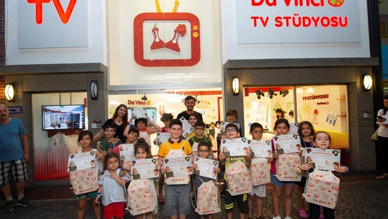TV+ ile Da Vinci'den Çocuklara Karne Hediyesi!