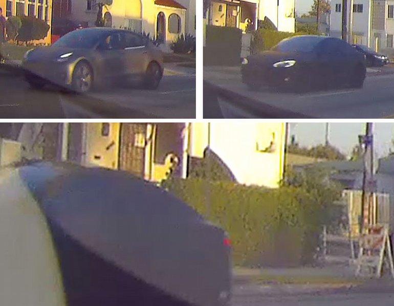 Yeni Tesla Model S Kameraya Yakalandı!