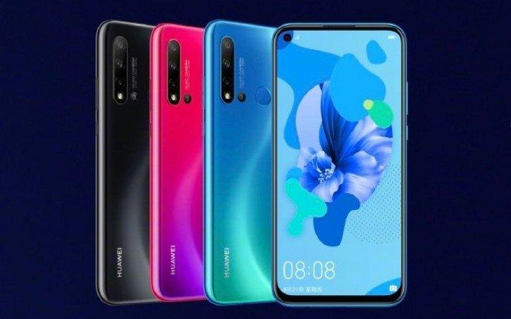 Huawei, Nova 5, Nova 5 Pro ve Fazlasını Tanıttı