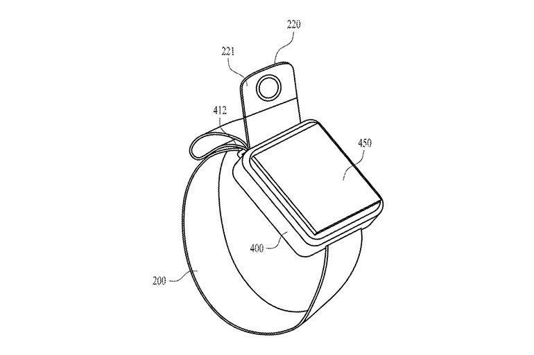 Apple'dan Ayarlanabilir Kameralı Bant Pantenti