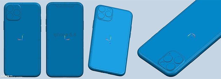 iPhone 11 Serisi CAD Çizimleriyle Göründü